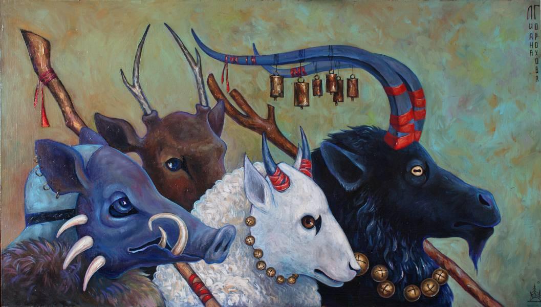 художник Горохова Лиана - картина Окрута