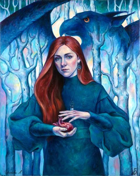 художник Горохова Лиана - картина Автопортрет 2020