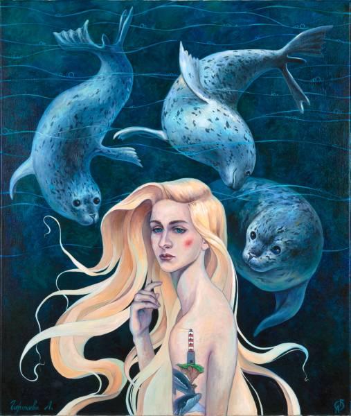 художник Горохова Лиана - картина Селки